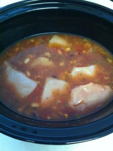 Crock Pot Chicken Chili, Step 4